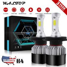 H4 9003 HB2 LED Headlight Bulb Conversion Kit High Low Beam 6000K 198000LM 1320W