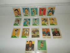 COLLLECTION OF VINTAGE FOOTBALL CARDS