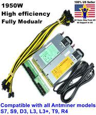 Power Supply for bitmain antminer S9 / D3 / L3+ / S7 / T9 / R4 110V-240V PSU