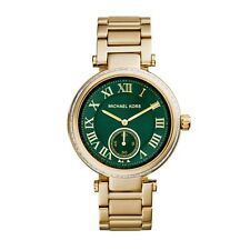NEW MICHAEL KORS MK6065 LADIES GOLD SKYLAR WATCH - 2 YEARS WARRANTY