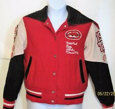 ECKO RED Wool Varsity School JACKET Womens Size XL coat  j191