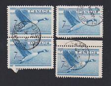 Canada 320 Canada Goose, three (1 pair) Alberta cancels