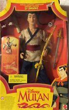 Disney Mulan Li Shang Captain Doll 1997 Mattel New
