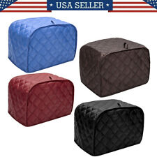 New listing Quilted Two Slice Red Toaster Appliance Cover, Dust and Fingerprint Protection