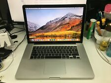 """Apple MacBook Pro A1286 15"""" Core i7 2 Ghz 8GB 256GB SSD MS OFFICE INSTALLED 1"""
