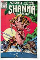 Ka-Zar The Savage 22 Marvel 1983 VF NM Shanna She-Devil Cheesecake Wrap Cover