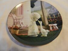 Make A Joyful Noise Precious Moments Collector Plate Sam Butcher (H1)