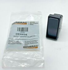Generac 0E4494 Rocker switch DPDT ON-OFF-ON, SAME DAY SHIPPING