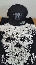 New! INFECTED MUSHROOM T-Shirt & Snapback Cap/Hat Bundle (Shirt Small)