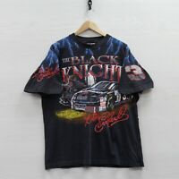 Vintage Dale Earnhardt Black Knight T-Shirt XL 90s NASCAR Racing Goodwrench