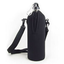 750ML Water Bottle Carrier Insulated Cover Bag Holder Strap Pouch Outdoor Hiking
