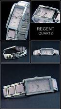Elegante & DEPORTIVO MUJER Regent Reloj Cerámica LOOCK ACERO inox. en rosa NUEVO