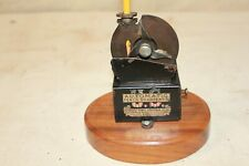 ANTIQUE US AUTOMATIC PENCIL SHARPENER PATENTED 1907 COMPLETE WITH DRAWER GREAT