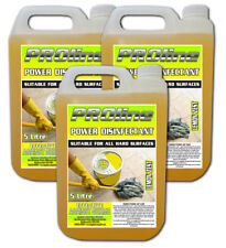 PROline Lemon Power Disinfectant 3x5 ltr Bottles (15ltrs)