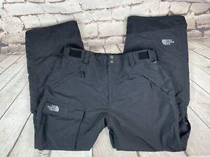 The North Face Men's Size XL Black Ski Snowboarding Pants EUC