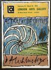 Pierre Alechinsky London Arts Exhibition Lithograph Poster 1970