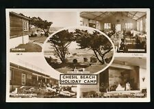 Dorset CHESIL BEACH Holiday Camp Tuck M/view c1950/60s? RP PPC