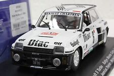 FLY 037102 RENAULT 5 TURBO RALLYE MONTE CARLO NEW 1/32 SLOT CAR IN DISPLAY CASE