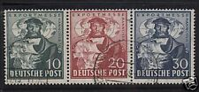 Germany #662 - #664a VF Used Strip Of Three