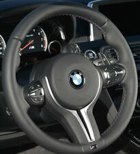 BMW OEM F10 M5 F06 F12 F13 M6 Heated Steering Wheel Tri-Color Rim & Cover Only
