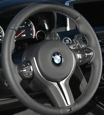 BMW OEM F10 M5 F06 F12 F13 M6 M Sport Heated Steering Wheel Tri-Color Stitching