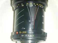Minolta Telesor MD 75-200 Telephoto Lens 55mm