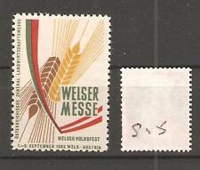 CINDERELLA -S15-  AUSTRIA  - WIENER MESSE - 1962