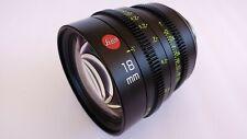 Leica Summicron-C 18mm T2.0 PL Mount-Cinema Lens
