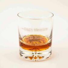 More details for personalised whisky glass dads measure glassware christmas fathers day gifts
