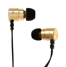 Symphonized MTL Dual Driver Heavy Bass In-ear Noise-isolating Headphones (Gold)