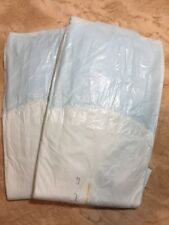 Vintage Tena Classic Plus Large Plastic Backed Adult Diapers 2 Pack Sample RARE