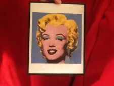 Marilyn Monroe by Andy Warhol Offset Lithograph?