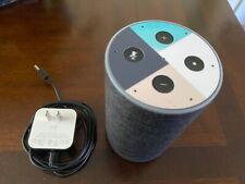 Amazon Echo (2nd Generation) Smart Speaker with Alexa - Charcoal Gray Fabric