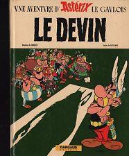 BD Le devin Astérix Goscinny Uderzo Dargaud 1972