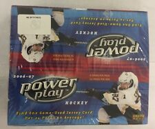 2006-07 Upper Deck Power Play Factory Sealed Hockey Hobby Box