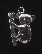 Koala Bear Charm Australia Pendant Wild Animal Charm Mammal Charm Bear Charm