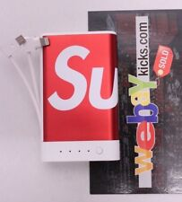 Supreme New York Mophie Encore Plus 10K Charging Device Red Box Logo FW17 New