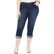 MSRP $60 Style & Co. Womens Plus Denim Mid Rise Jeans Blue Size 24W