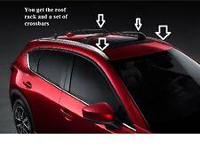 2017 2018 Mazda CX-5 Roof Rack and Cross Bars  00008LR07 00008LR09
