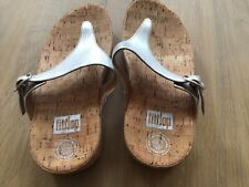 Fitflop Silver Wedges Size 6