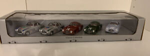 Rare Factory Issued 1:43 5 Car Set of Mercedes Benz 300SL Race Cars