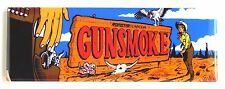 Gunsmoke Marquee FRIDGE MAGNET (1.5 x 4.5 inches) arcade video game header