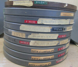 16mm SILENT AND CLASSIC FEATURE FILM VINEGAR BLOW OUT LOT!