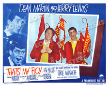 THAT'S MY BOY LOBBY SCENE CARD # 1 POSTER 1951 DEAN MARTIN JERRY LEWIS