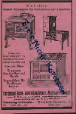 MÜNCHEN-NÜRNBERG, Werbung 1925, Vereinigte Herd-Ofen-Fabriken AG Kochherd Kachel