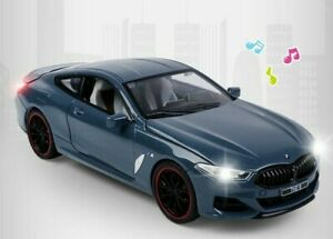 1/24 Diecast Car For BMW 8 SERIES 840i M COUPE Model (G15) 2018 Collection Toys