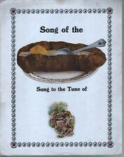 Song of the Baked Potato - Northern Pacific Railway Large Format Sheet Music