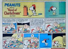 Peanuts by Charles Schulz - large half-page color Sunday comic - July 26, 1970