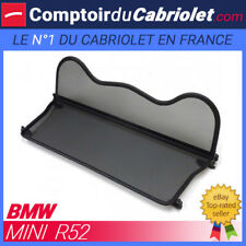 Filet anti-remous saute-vent, windschott Bmw Mini Cooper R52 cabriolet - TUV