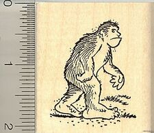 Big Foot rubber stamp G9910 Wm Sasquatch mythological